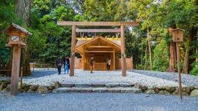 Ise Jingu Geku (santuário de Ise Grand - santuário exterior) em Ise City, Mie Prefecture foto de stock