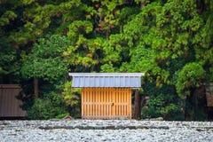 Ise Jingu Geku (santuário de Ise Grand - santuário exterior) em Ise City, Mie Prefecture imagens de stock royalty free