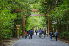 Ise Jingu GekuIse Grand shrine - outer shrine in Ise City, Mie Prefecture Stock Images