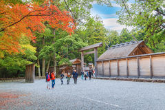 Ise Jingu GekuIse Grand shrine - outer shrine in Ise City, Mie Prefecture Royalty Free Stock Image