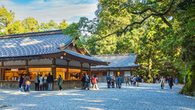 Ise Jingu GekuIse Grand shrine - outer shrine in Ise City, Mie Prefecture Stock Image