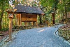 Ise Jingu Naiku (capilla de Ise Grand - capilla interna) en Ise City, Mie Prefecture Fotos de archivo libres de regalías