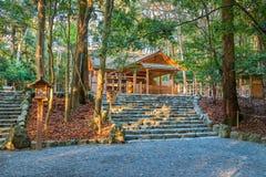Ise Jingu Naiku (capilla de Ise Grand - capilla interna) en Ise City, Mie Prefecture Foto de archivo libre de regalías