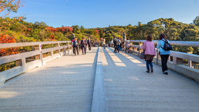 Ise Jingu Naiku(Ise Grand shrine - inner shrine) in Ise City, Mie Prefecture Stock Photos