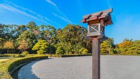 Ise Jingu Naiku (santuario di Ise Grand - santuario interno) in Ise City, Mie Prefecture Immagini Stock Libere da Diritti