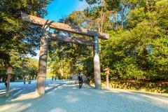 Ise Jingu NaikuIse Grand shrine - inner shrine in Ise City, Mie Prefecture Stock Photo