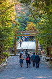 Ise Jingu NaikuIse Grand shrine - inner shrine in Ise City, Mie Prefecture Royalty Free Stock Photo