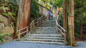 Ise Jingu NaikuIse Grand shrine - inner shrine in Ise City, Mie Prefecture Stock Photography