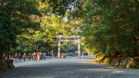 Ise Jingu NaikuIse Grand shrine - inner shrine in Ise City, Mie Prefecture Stock Images