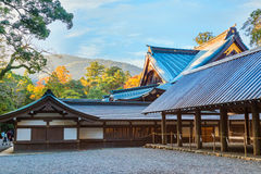 Ise Jingu NaikuIse Grand shrine - inner shrine in Ise City, Mie Prefecture. Ise Grand Shrine Naiku - inner shrine, officially known as Kotai Jingu dedicated to Royalty Free Stock Photos