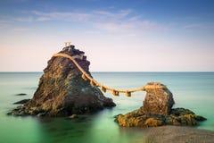 Ise, rocce del Giappone Fotografia Stock