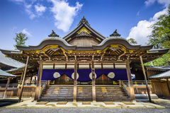 Ise Shrine, Japan. Ise Shrine building in Ise, Japan Royalty Free Stock Photos