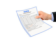 Isee form Stock Images