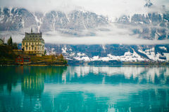 Iseltwald, Briensersee Royalty Free Stock Images
