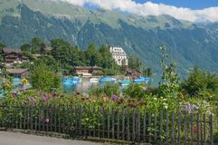 Iseltwalt,Lake Brienz,Interlaken,Switzerland Royalty Free Stock Photo