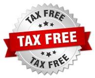 Isento de impostos ilustração do vetor