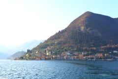 iseo意大利湖 库存图片