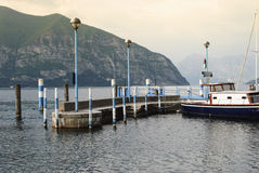 Iseo Harbour Royalty Free Stock Images