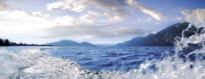 Iseo jezioro Zdjęcia Royalty Free