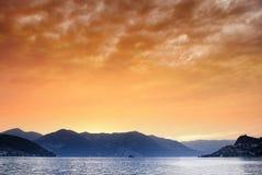Iseo Lake stock image