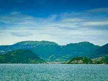 Iseo lake Royalty Free Stock Photography