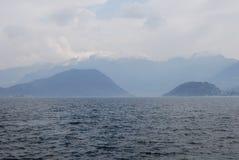 Iseo lake Royaltyfri Fotografi