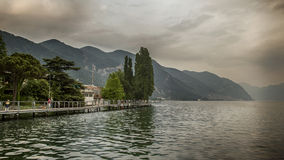 Iseo Lake Italy Stock Photography
