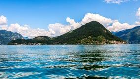 Iseo Lake Italy - Monte Isola Royalty Free Stock Images
