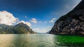 Iseo Lake Italy Stock Photo