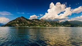 Iseo Lake Italy Trentapassi mount. Iseo Lake Sebino Lombardy Italy Trentapassi mount Stock Photos