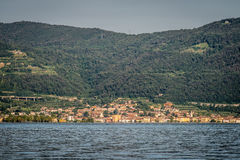 Iseo village , Brescia Italy Royalty Free Stock Image