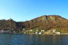 iseoitaly lake Royaltyfri Fotografi