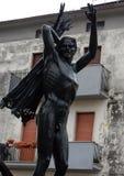 Isernia - monumento a las víctimas del 10 de septiembre imagen de archivo libre de regalías