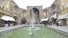 Isfahan basaringång lager videofilmer
