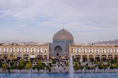 Isfahan Bazaar. Isfahan Ancient Bazaar in central Iran Royalty Free Stock Photo
