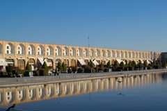 Isfahan bazaar. Isfahan emam square and bazaar Royalty Free Stock Photography