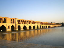 Isfahan bridge Royalty Free Stock Photo