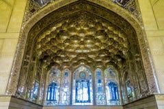 Isfahan Chehel Sotoun pałac 05 zdjęcie stock