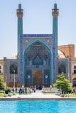 Isfahan, der Iran - Schah-Moschee Berühmtes Quadrat Naqsh-e Jahan mit Moschee lizenzfreies stockfoto