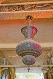 Isfahan Gheisari bazar chandelier Royalty Free Stock Image