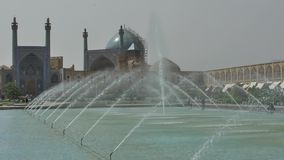 Isfahan Imam Square stock video footage
