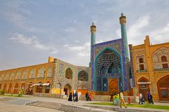 Isfahan Shah Mosque Royalty Free Stock Photo