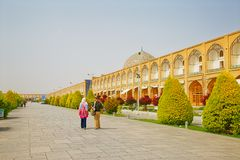 Isfahan Imam Square Royalty Free Stock Photos