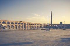 ISFAHAN IRAN, PAŹDZIERNIK, - 06, 2016: Sheikh Lotfollah meczet przy Naq Zdjęcie Royalty Free