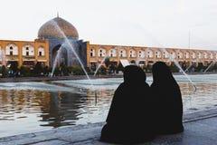 ISFAHAN IRAN, PAŹDZIERNIK, - 06, 2016: Sheikh Lotfollah meczet przy Naq Fotografia Stock