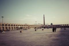 ISFAHAN IRAN, PAŹDZIERNIK, - 06, 2016: Sheikh Lotfollah meczet przy Naq Zdjęcia Stock