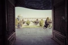 ISFAHAN IRAN, PAŹDZIERNIK, - 06, 2016: Sheikh Lotfollah meczet przy Naq Obrazy Stock