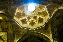 Isfahan Jameh moské 04 royaltyfri fotografi
