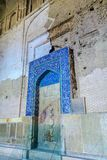 Isfahan Jameh moské 12 arkivbilder