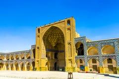 Isfahan Jameh moské 18 royaltyfri foto